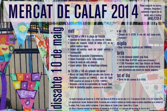 Mercat de Calaf 10 Maig